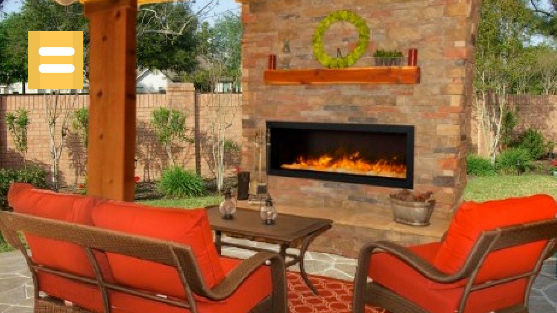 invest your tax refund in an amantii electric fireplace