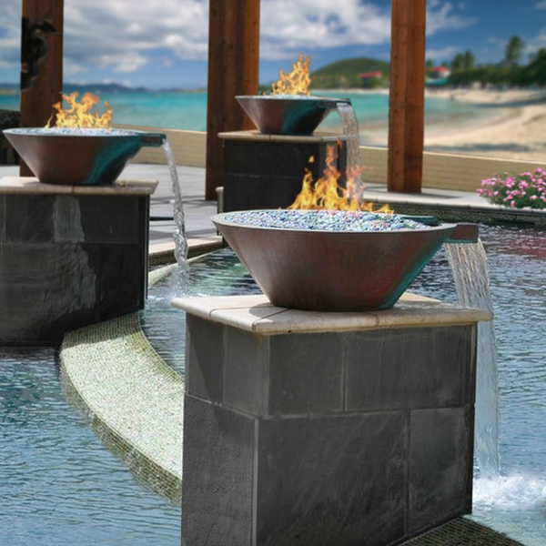 Bobe Fire and Water Bowl