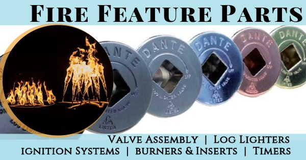 Fireside Expressions Fire Feature Parts