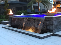 24 Inch Charcoal Concrete  Fire Bowl