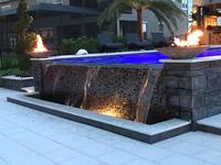 24 Inch Charcoal Concrete  Fire Bowl