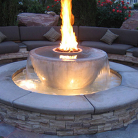 Customer fire bowl