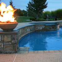 Customer Concrete fire bowl
