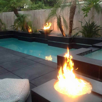 Customer Customer fire and water bowls and fire table