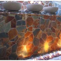 Customer Set of concrete fire bowls