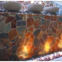 Customer Set of concrete fire bowls