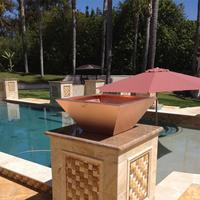 Customer Copper fire bowl