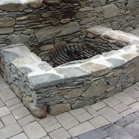 Customer Fire pit grate