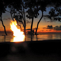 Customer Fire on water