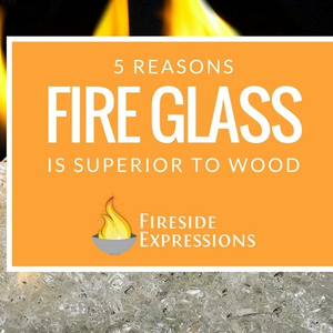 5 Reasons Fire Glass Is Superior To Wood